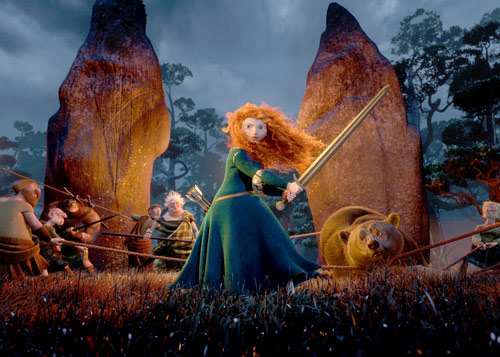 Brave i li uy tn cho Pixar, Phim mi, Phim, brave, co gai toc xu, merida, andersen, co tich, anh em nha grim, scotland, phim moi, phim hoat hinh, phim 3d