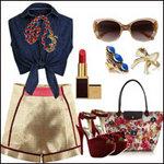 Thời trang - Soóc ánh kim sexy khoảnh khắc giao mùa
