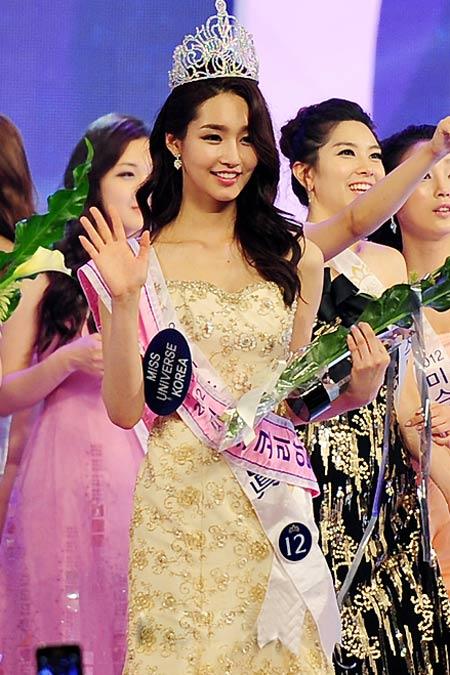 Lộ diện nhan sắc tân hoa hậu Hàn Quốc - 3