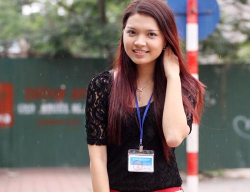 Bắt gặp Hoa khôi đi trông thi đại học - 12