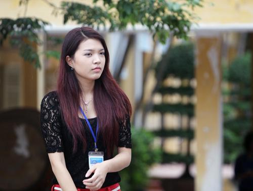 Bắt gặp Hoa khôi đi trông thi đại học - 6