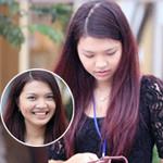Bạn trẻ - Cuộc sống - Bắt gặp Hoa khôi đi trông thi đại học