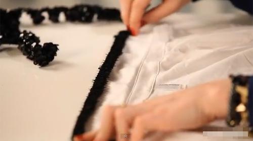 Làm cổ áo sequin lấp lánh đẹp mắt - 2