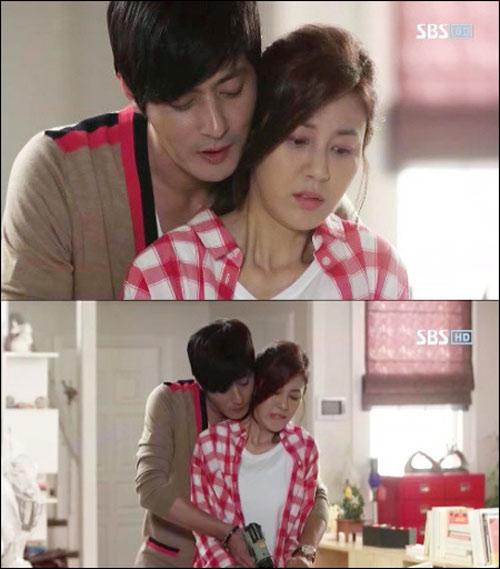Vợ Jang Dong Gun ghen cảnh nóng của chồng - 6
