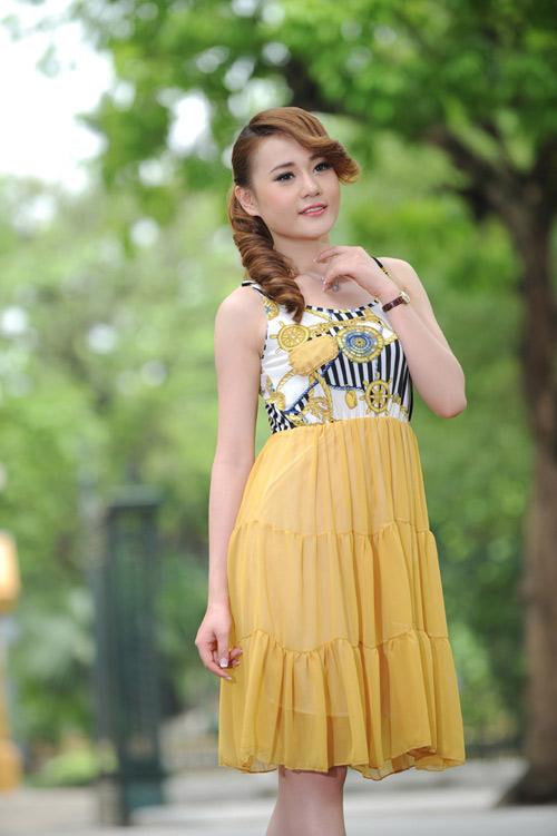 Màu vàng tôn da cho thiếu nữ Việt - 4