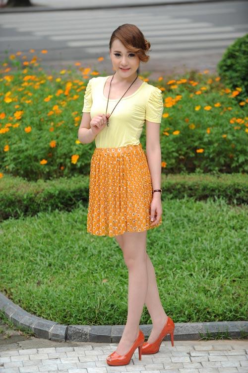 Màu vàng tôn da cho thiếu nữ Việt - 6