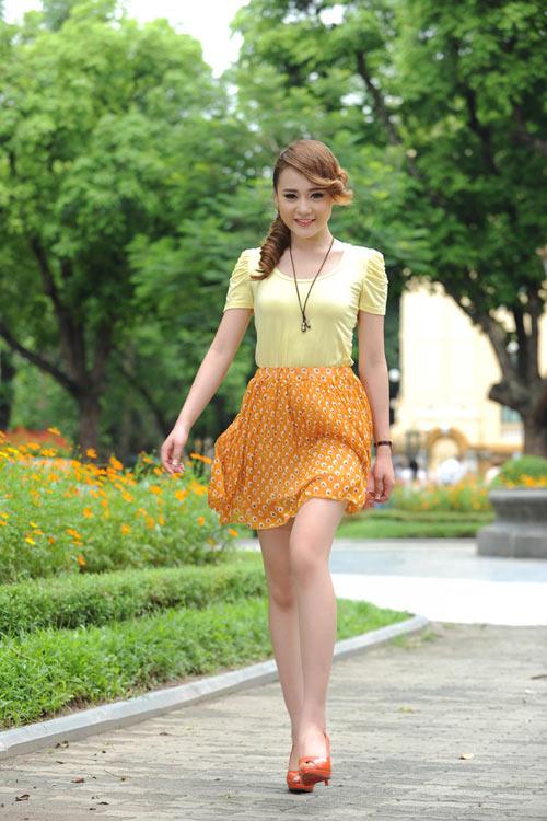 Màu vàng tôn da cho thiếu nữ Việt - 7
