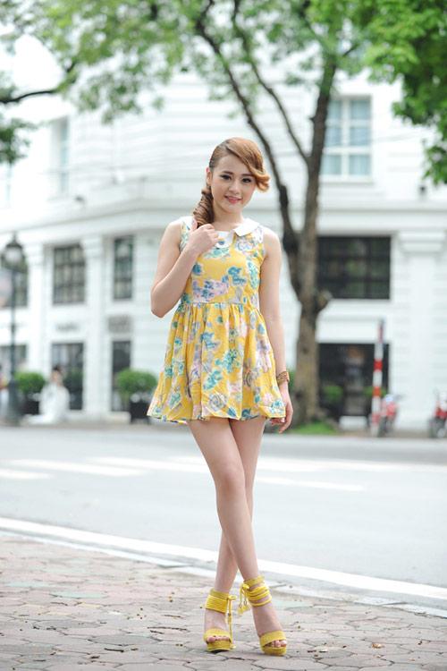 Màu vàng tôn da cho thiếu nữ Việt - 9