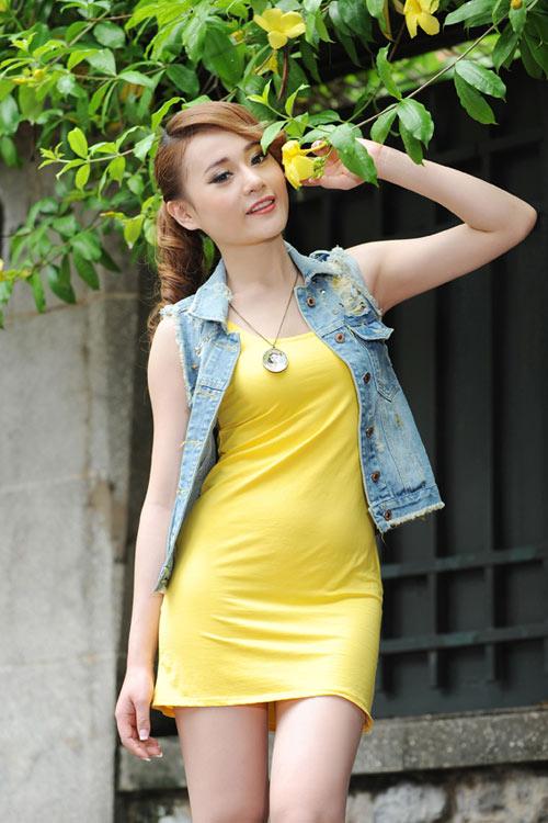 Màu vàng tôn da cho thiếu nữ Việt - 2
