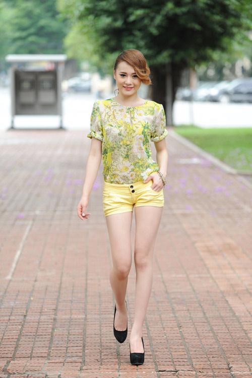 Màu vàng tôn da cho thiếu nữ Việt - 8
