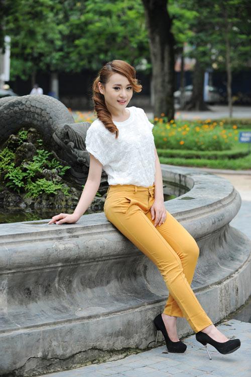 Màu vàng tôn da cho thiếu nữ Việt - 10