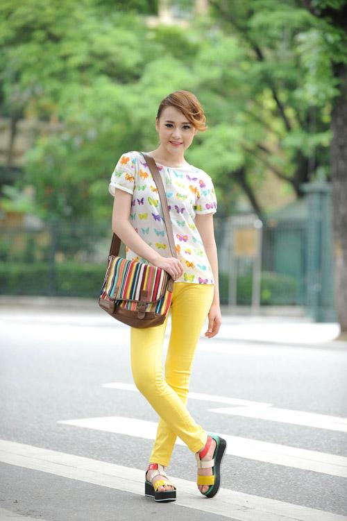Màu vàng tôn da cho thiếu nữ Việt - 11