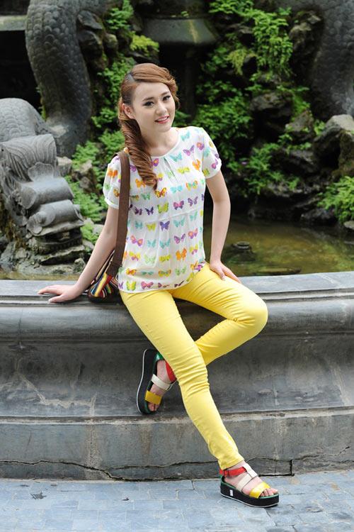 Màu vàng tôn da cho thiếu nữ Việt - 12