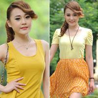 Màu vàng tôn da cho thiếu nữ Việt