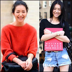 Thời trang - Chân dài gốc Á số 1 thế giới cực giản dị