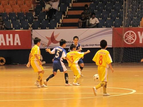 Lễ trao giải bóng đá nhi đồng Yamaha Cup 2012 - 3
