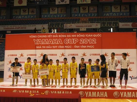 Lễ trao giải bóng đá nhi đồng Yamaha Cup 2012 - 4