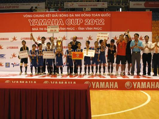L trao gii bng  nhi ng Yamaha Cup 2012, Th thao, 