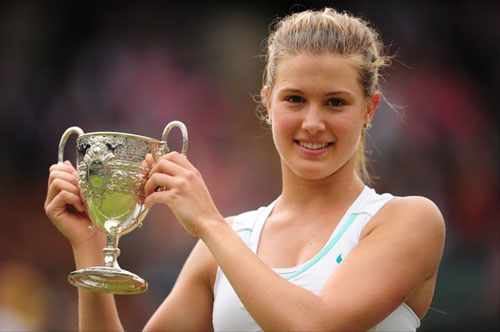 M nhn tennis mi ti Wimbledon 2012, Th thao, Wimbledon, Eugenie Bouchard, tennis, video tennis, Grand Slam, the thao, quan vot, tay vot, san co