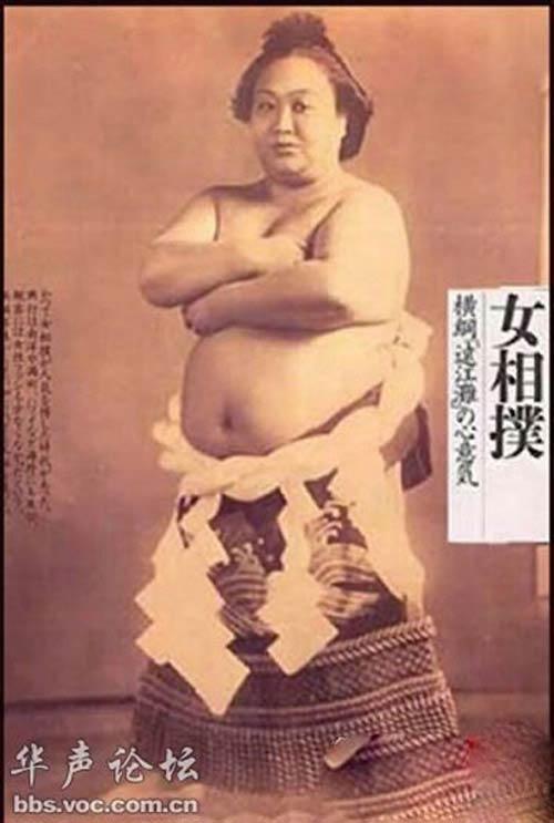 """Những phụ nữ Nhật gây """"choáng"""", Phi thường - kỳ quặc, chuyen la phu nu nhat ban, phu nu nhat ban, nhat ban, nu sinh nhat, nu sumo, tro choi, chuyen la, chuyen la the gioi"""