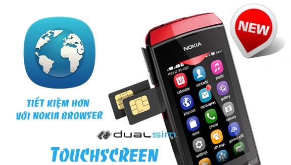 Nokia Asha 305 cảm ứng, 2 sim 2 sóng mới đang hot - 1