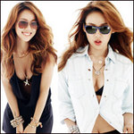Thời trang - Lee Hyori buông hờ khe ngực chật