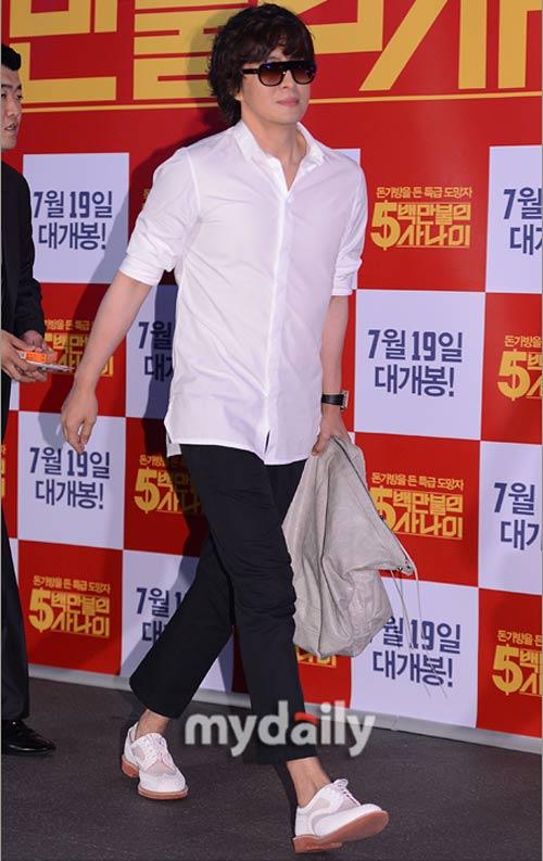 Chàng điển trai Kim Ji Hoon xuất ngũ - 5