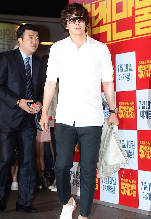 Chàng điển trai Kim Ji Hoon xuất ngũ - 7