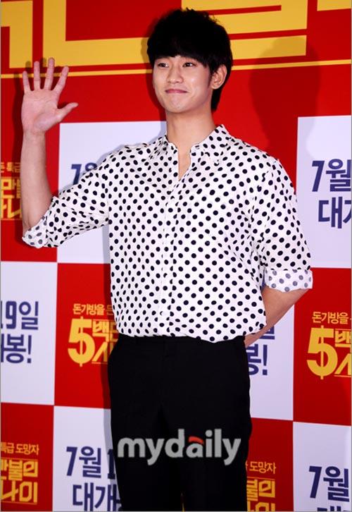 Chàng điển trai Kim Ji Hoon xuất ngũ - 9