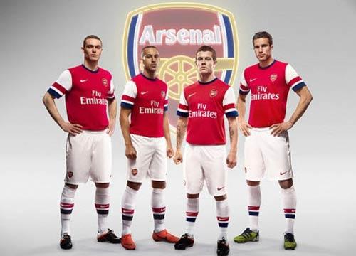 """Áo """"độc"""" cho sân khách của Arsenal - 3"""