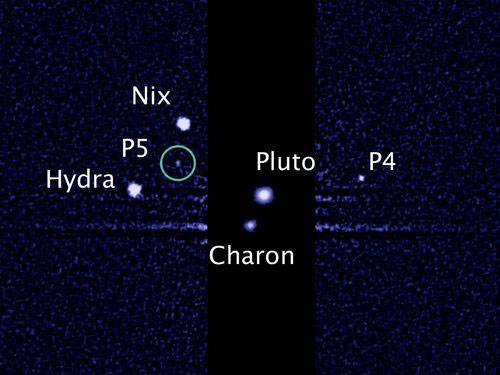 Phát hiện vệ tinh thứ 5 của sao Diêm Vương - 1