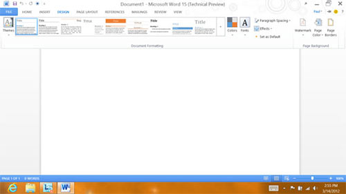 Microsoft Office 15 – cái nhìn đầu tiên, Công nghệ thông tin, Office 15, Microsoft Office 15, Technical Preview, MS Office 2010,  MS Office 15, office 15 beta, giao dien, phien ban word, Windows 8, bo cai office 15, MS Word 2010, Office 2010 Professional Plus, Microsoft ID, Office 15 Technical Preview, office 15 download, office 15 vn-zoom, Windows 8 Consumer Preview, Microsoft My Site Documents, tín đồ công nghệ, giao dien metro, giao diện ribbon, tin hoc van phong, cong nghe thong tin, cong nghe.