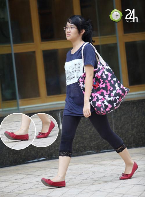 Dạo phố Hà Nội ngắm chân xinh - 11