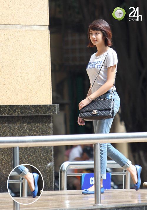 Dạo phố Hà Nội ngắm chân xinh - 10