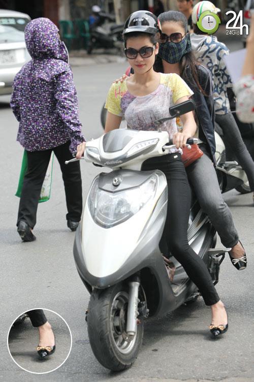 Dạo phố Hà Nội ngắm chân xinh - 9