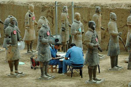 Những dấu hỏi quanh lăng mộ Tần vương - 3