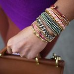Thời trang - Kết cườm cho vòng đeo tay