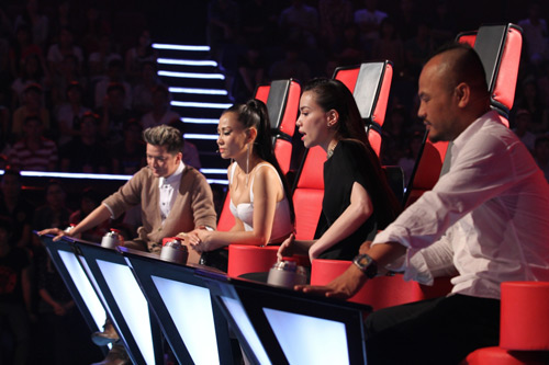 Tp 2 The Voice  ht chiu?, Ca nhc - MTV, Giong hat Viet, The Voice, the voice 2012, giong hat viet 2012, Dam Vinh Hung, Ho Ngoc Ha, Thu Minh, Tran Lap, tin tuc