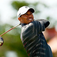 Golf  Tiger Woods t tin trc The Open