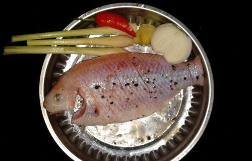 Cá điêu hồng nướng giấy bạc không ngán - 1