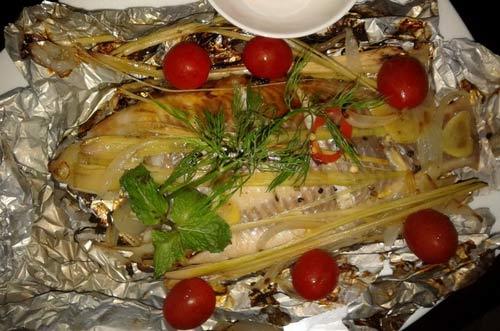 Cá điêu hồng nướng giấy bạc không ngán - 4