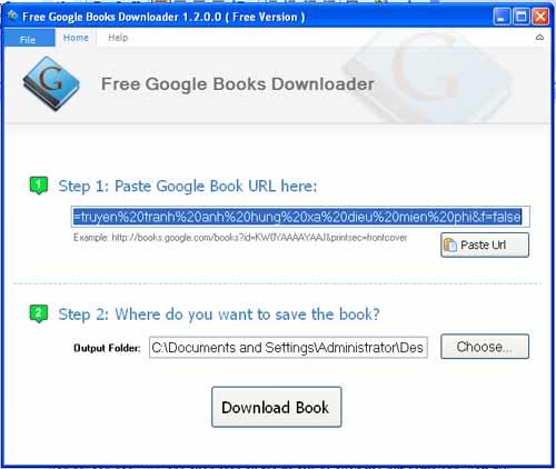 Tải sách miễn phí trên Google Books dễ dàng bằng Google Books Downloader - 3