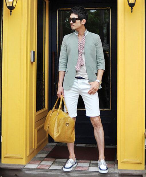 Cách phối giày vải với quần áo đi làm - 8