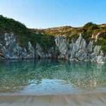 Du lịch - Bãi biển nằm giữa đồng cỏ xanh ở Tây Ban Nha