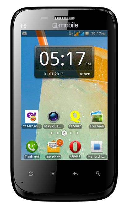 Q-mobile P8: Trải nghiệm hoàn hảo trên màn hình khủng - 1