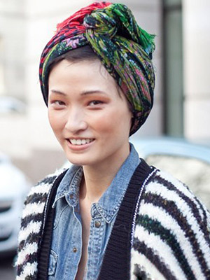 Mùa thu xốn xang cảm xúc với mũ turban - 13