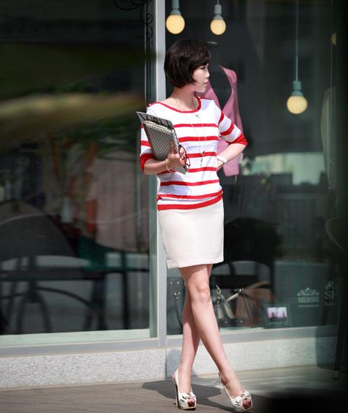 3 cách để mặc váy bút chì đẹp hơn - 9