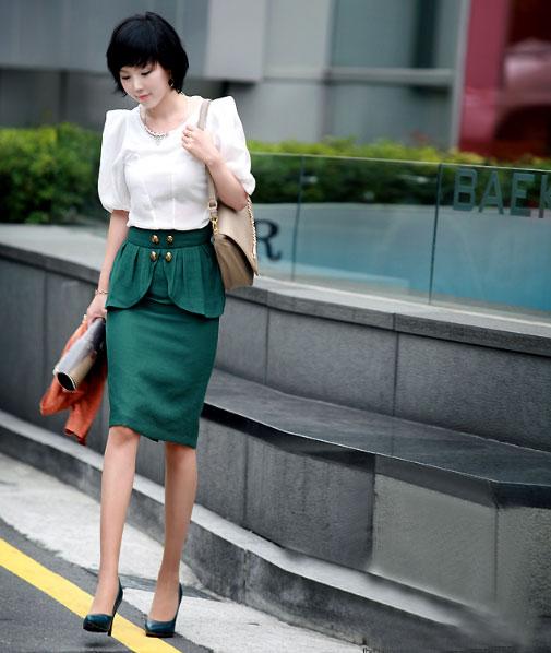 3 cách để mặc váy bút chì đẹp hơn - 3