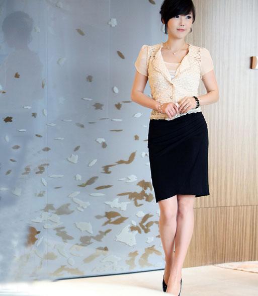 3 cách để mặc váy bút chì đẹp hơn - 10