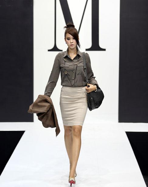 3 cách để mặc váy bút chì đẹp hơn - 5